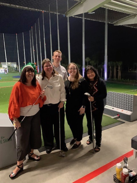 Davis and Ashton, P.A. was thrilled to join in the fun at the new Drive Shack golf facility in West Palm Beach